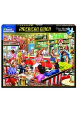 White Mountain American Diner 1000pc Puzzle