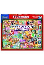 White Mountain TV Families 1000pc Puzzle