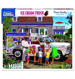 White Mountain Ice Cream Truck 1000pc Puzzle