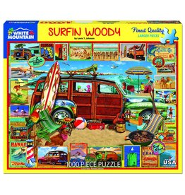 White Mountain Surfin Woody 1000pc Puzzle
