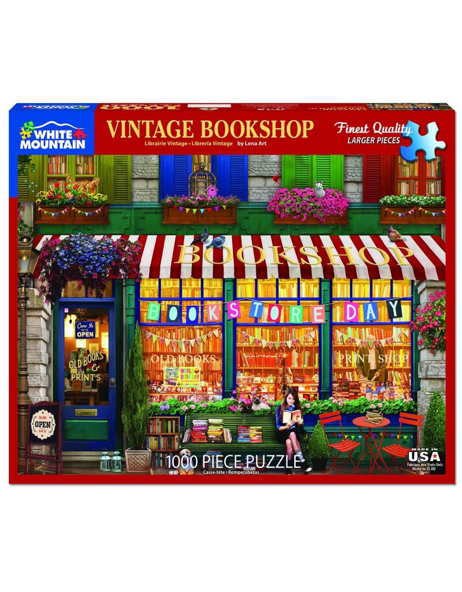 White Mountain Vintage Bookshop 1000pc Puzzle