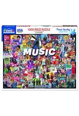 White Mountain Music 1000pc Puzzle