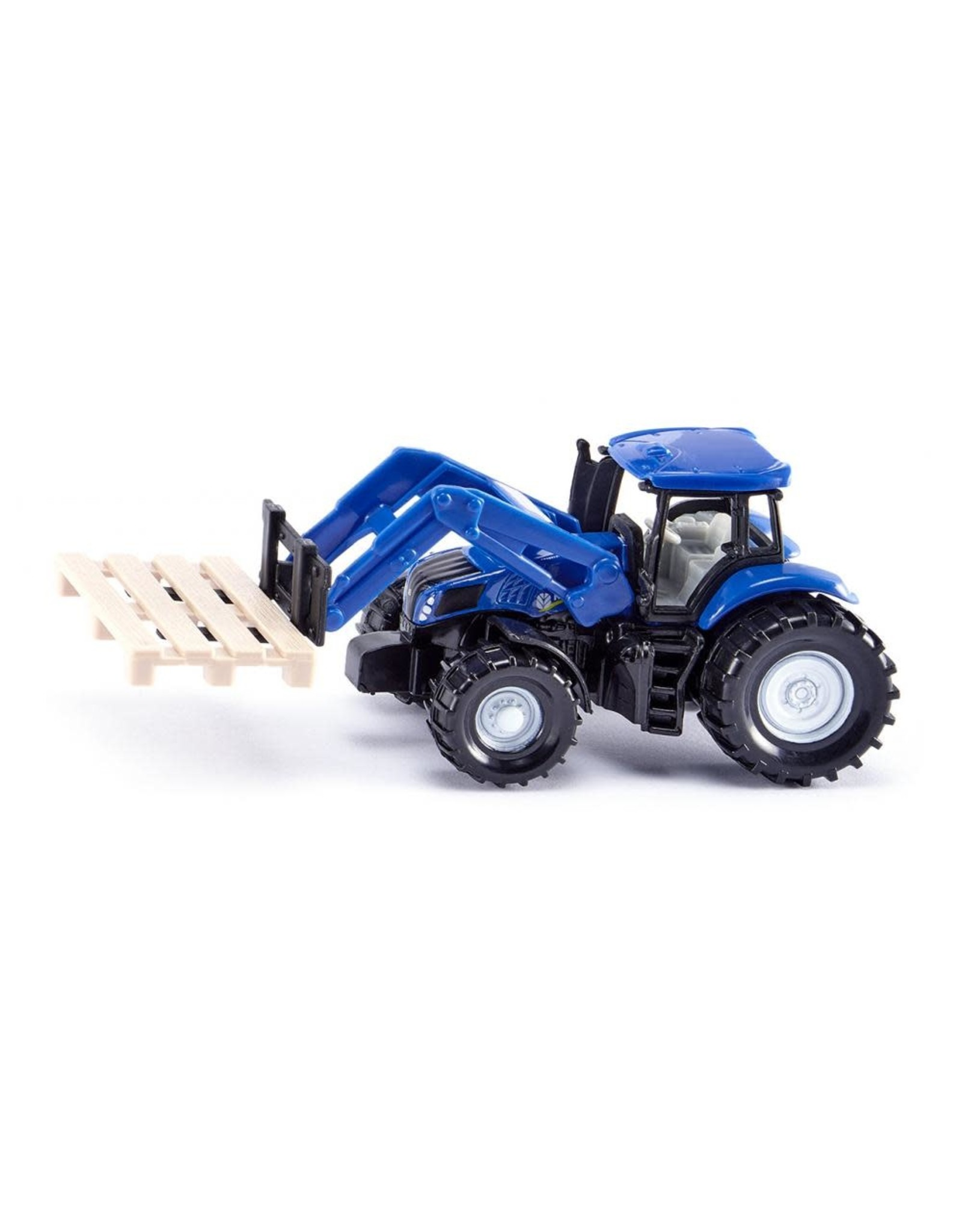 Siku Siku Tractor with Fork for Pallets and Pallet