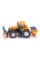 Siku Siku Tractor w Ploughing Plate & Salt Spreader