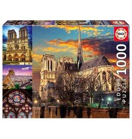 Educa Notre Dame Collage 1000pc Puzzle
