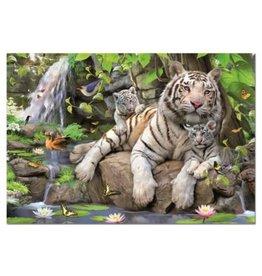 Educa White Tigers of Bengal 1000pc Puzzle