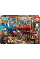 Educa Train Station Enigmatic Mystery 500pc Puzzle