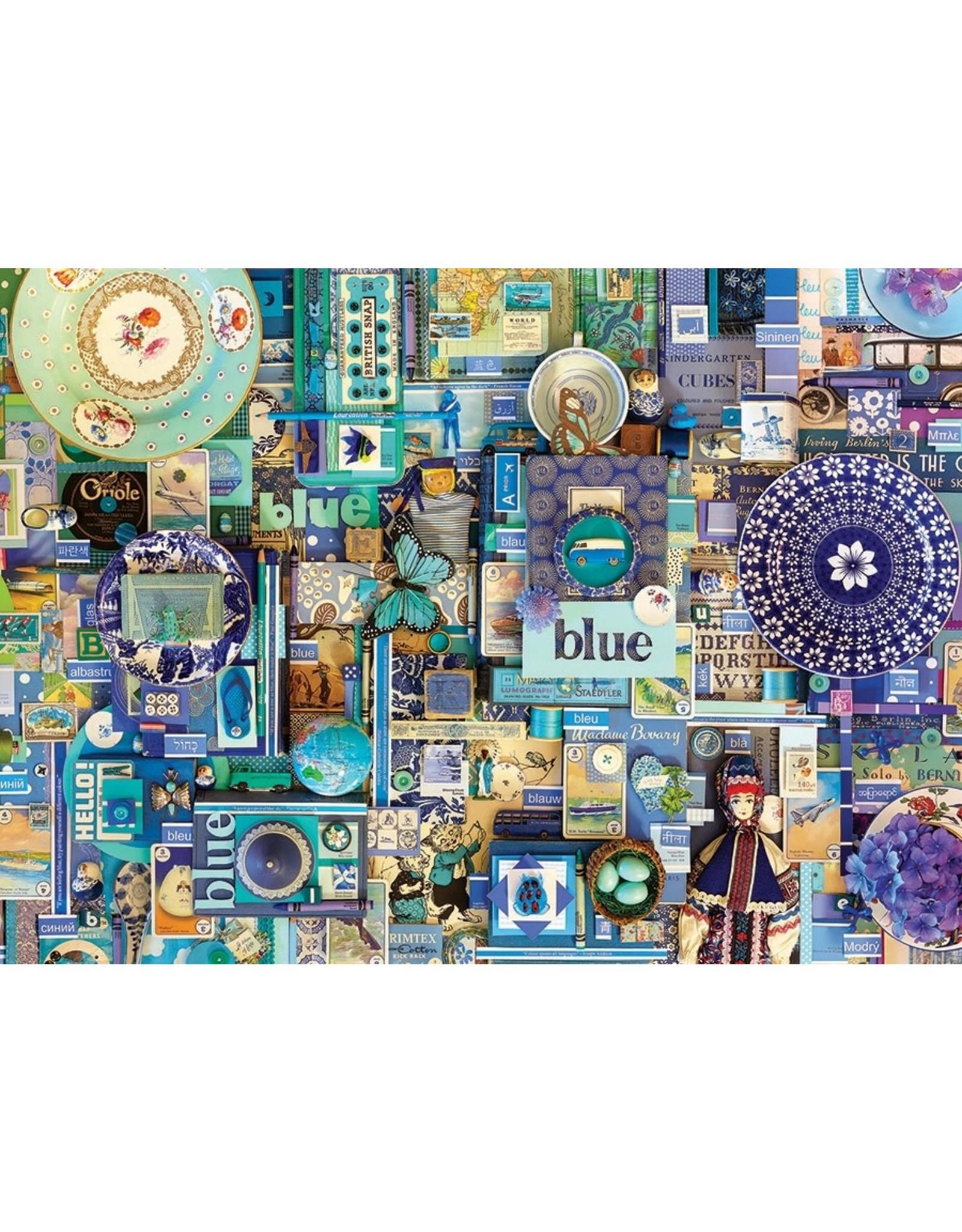 Cobble Hill Blue 1000pc Puzzle