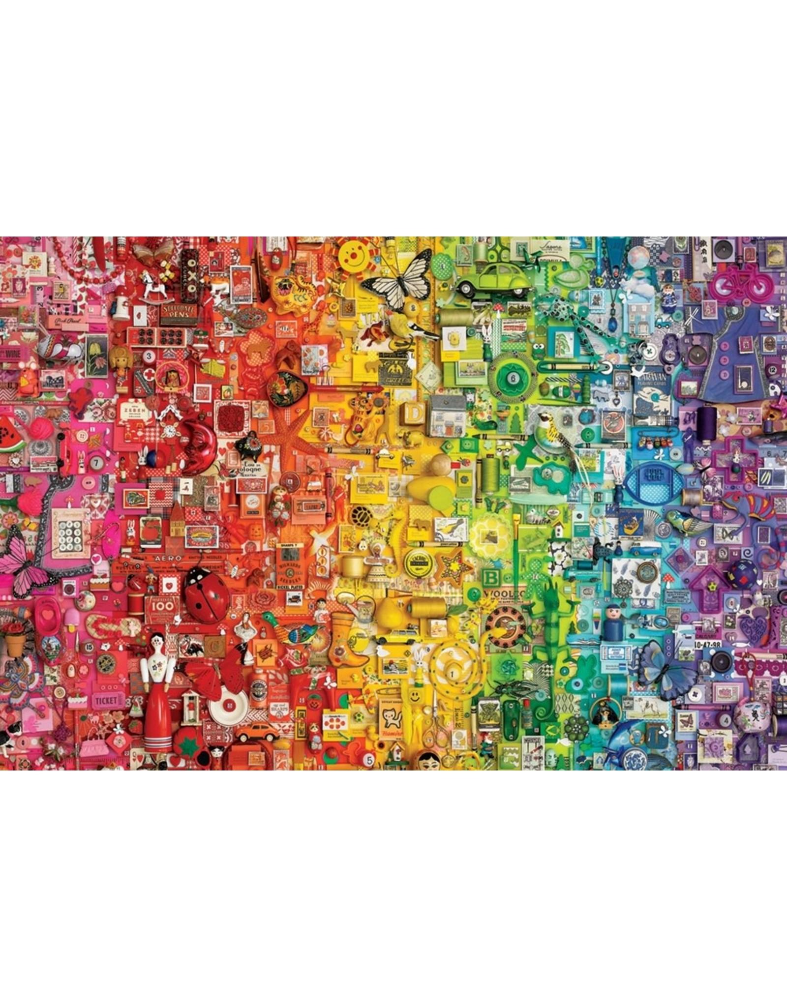 Cobble Hill Colourful Rainbow 1000pc Puzzle
