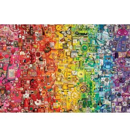 Cobble Hill Colourful Rainbow 1000pc Puzzle