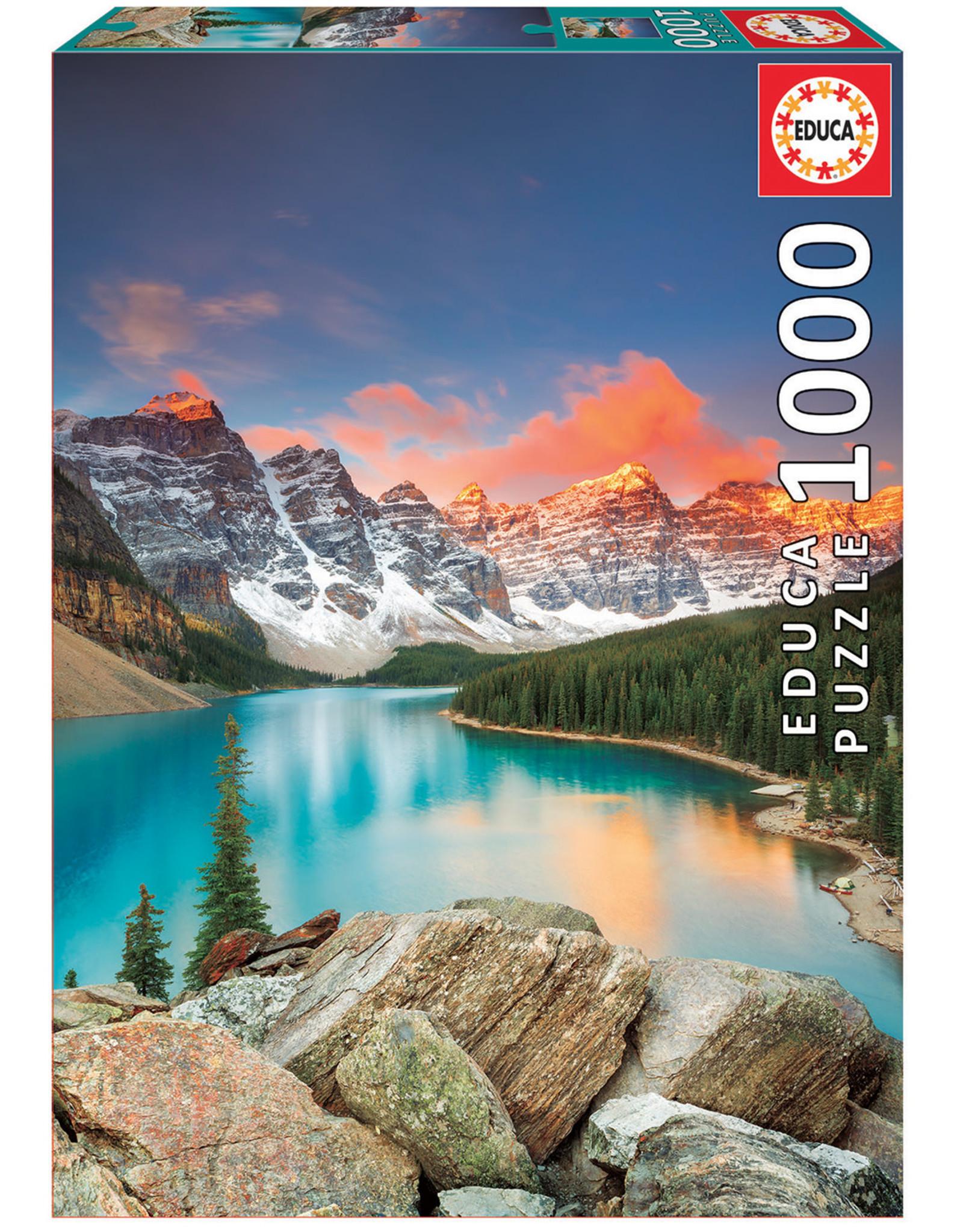 Educa Moraine Lake Banff 1000pc Puzzle