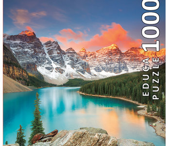 Moraine Lake Banff 1000pc Puzzle