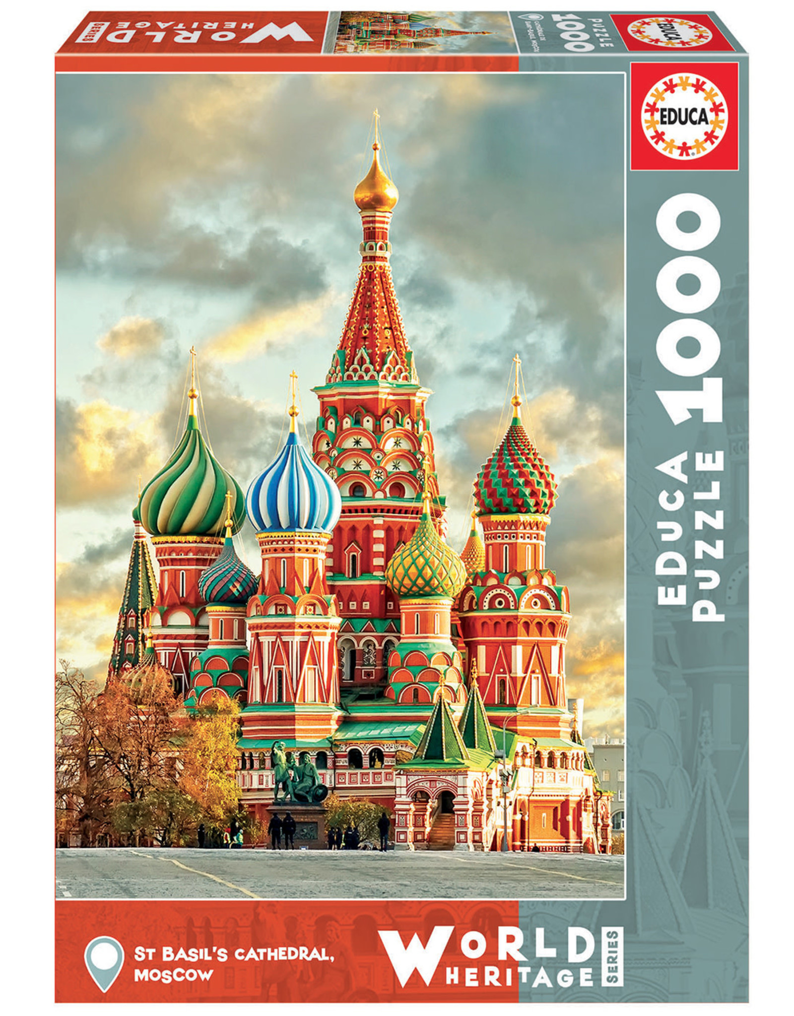 Educa St. Basil's Cathedral 1000pc Puzzle