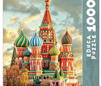 St. Basil's Cathedral 1000pc Puzzle
