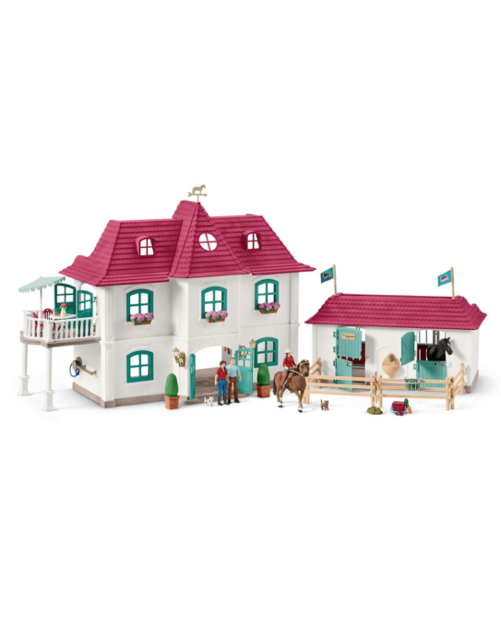 Schleich® Large Horse Stable with House & Stable