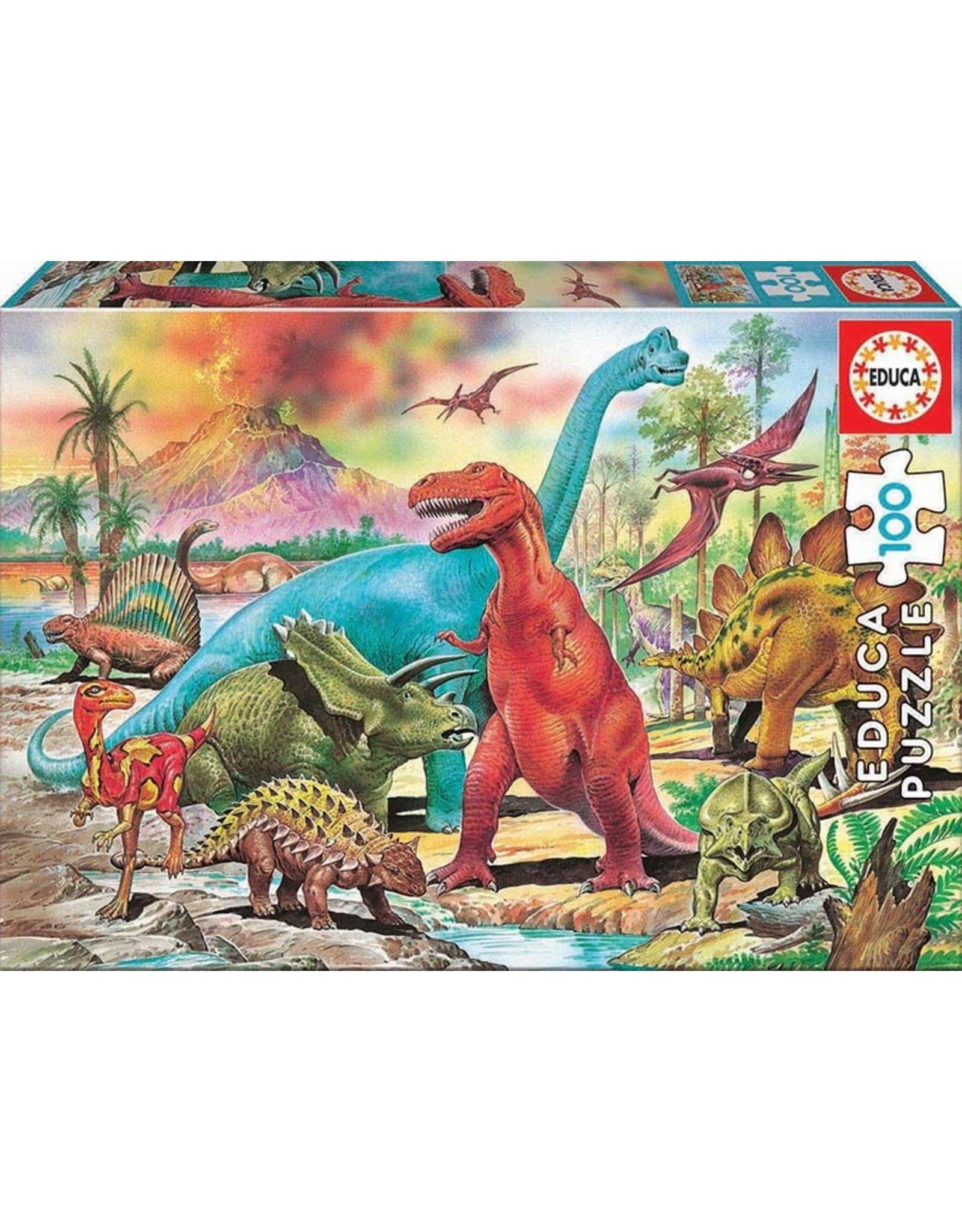 Educa Dinosaurs 100pc Puzzle