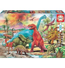 Educa Dinosaurs 100pc Puzzle