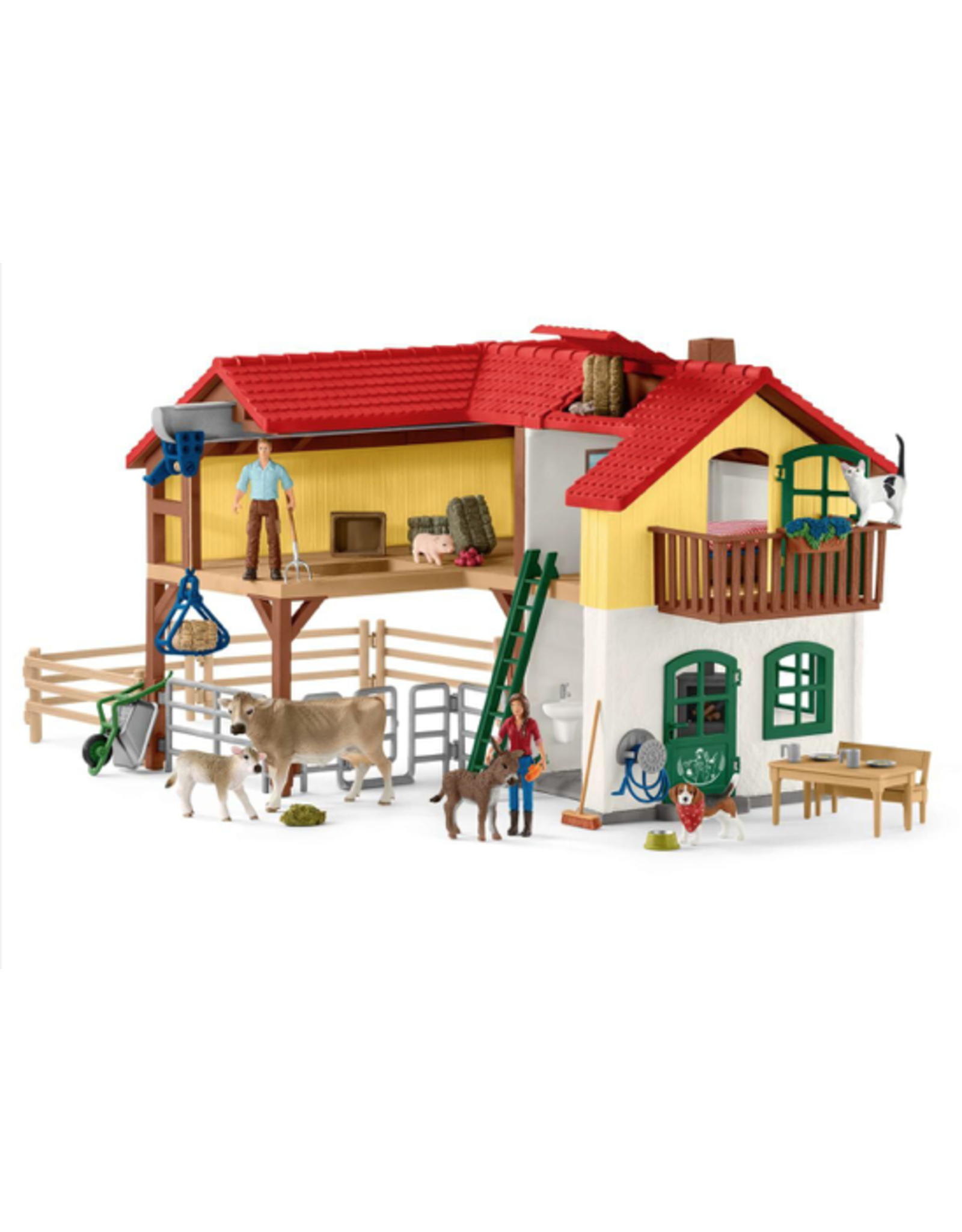 Schleich® Large Farm House