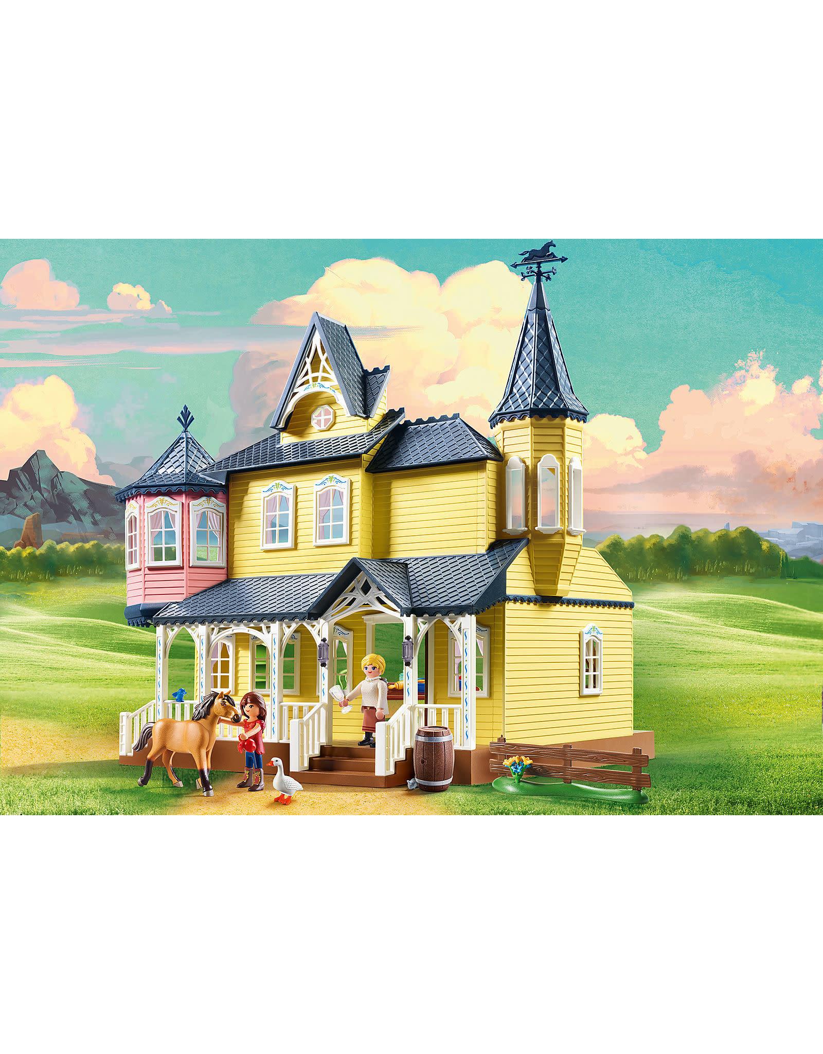 Playmobil Spirit: Lucky's Happy Home