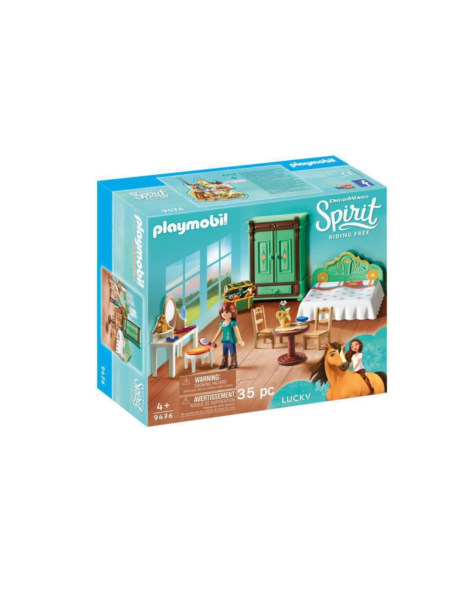 Playmobil Spirit: Lucky's Bedroom