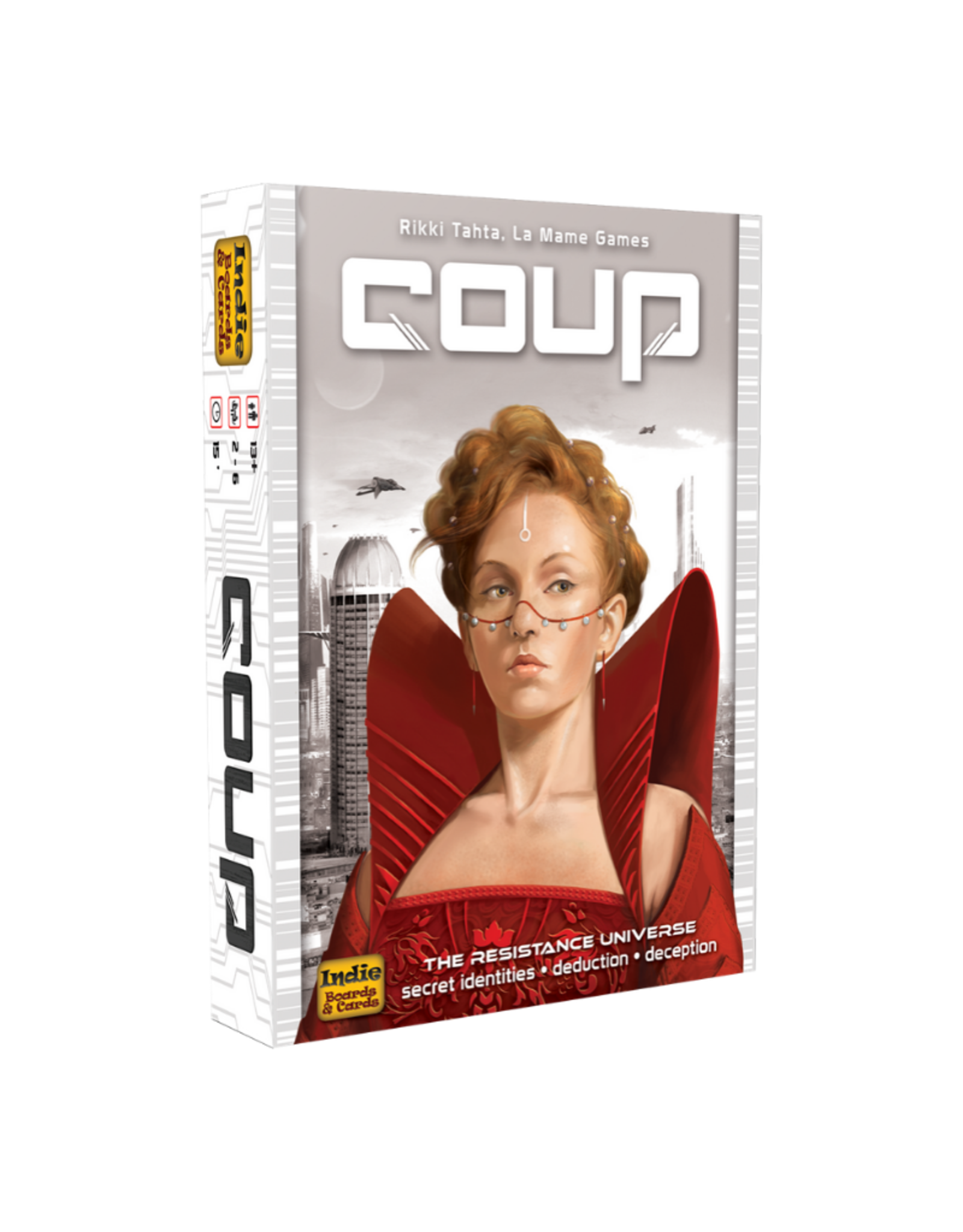 Indie Boards & Cards Coup - The Resistance Universe