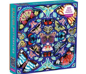 Kaleido-Butterflies 500pc Puzzle