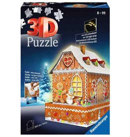 Ravensburger Gingerbread House 216pc 3D Puzzle