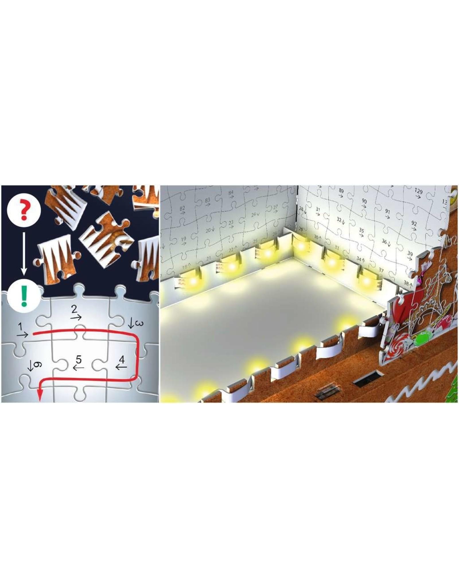 Ravensburger Gingerbread House 216pc 3D Puzzle