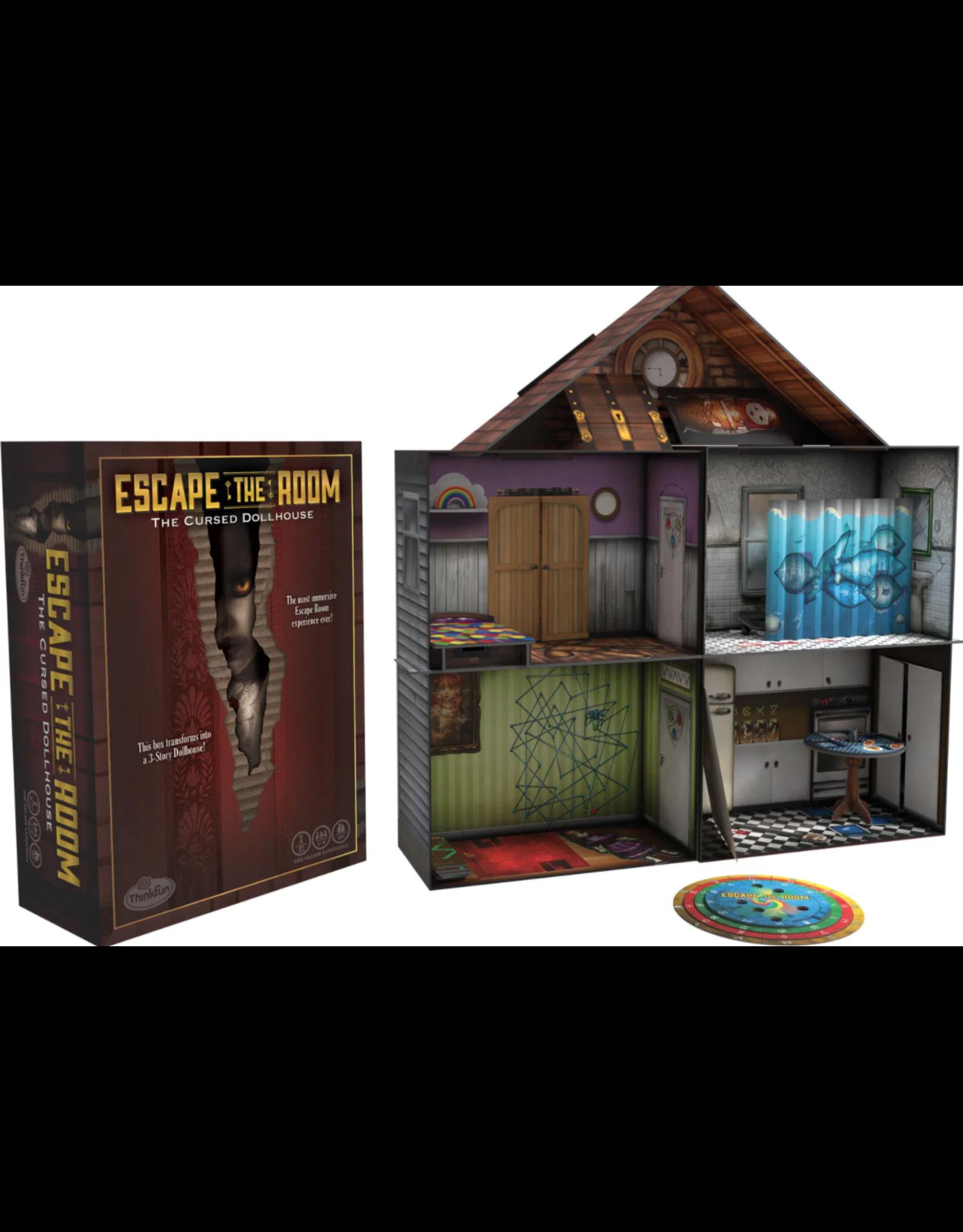 Think Fun Escape The Room - The Cursed Dollhouse