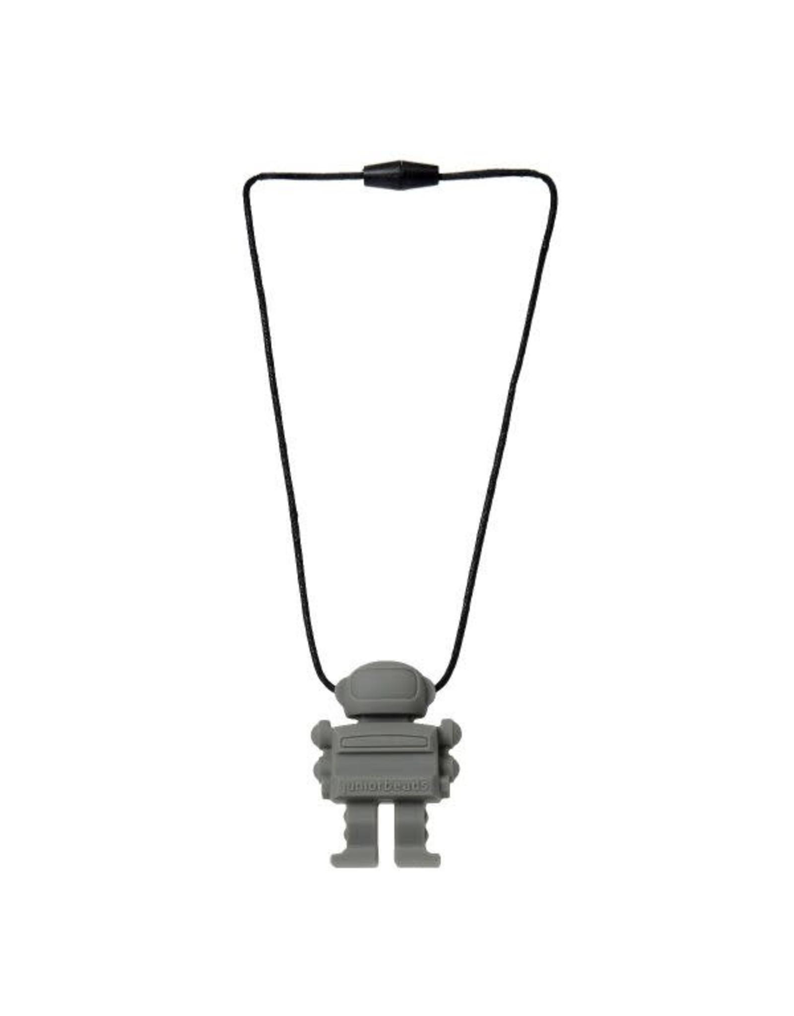 Chewbeads Chewbeads Spaceman Pendant (stormy grey)
