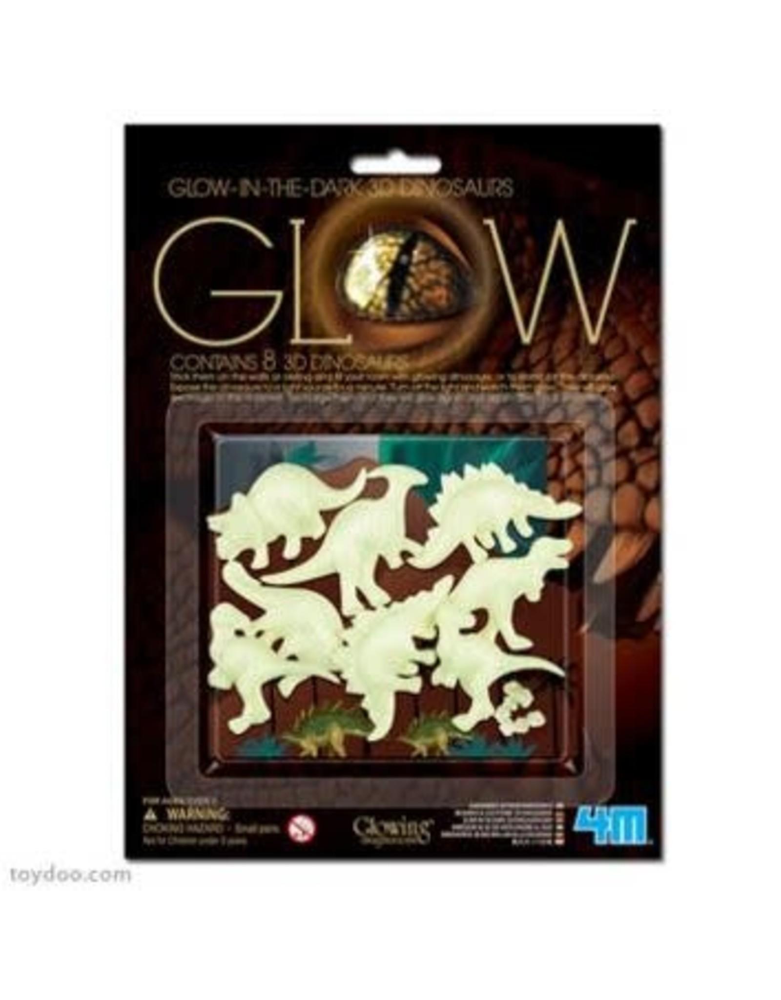 4M Glow in the Dark Dinosaurs