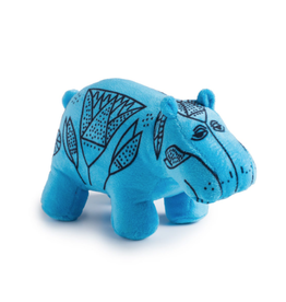 One Blue Hippo William Plush
