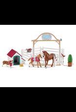 Schleich® Horse Club Hannah's Guest Horses w Ruby the Dog