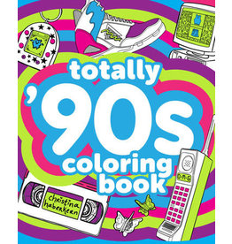 Penguin Random House Totally 90s Colouring Book