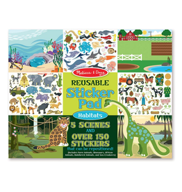 Melissa & Doug Reusable Sticker Pad: Habitats