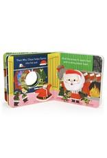 Santa's Big Day Board Book