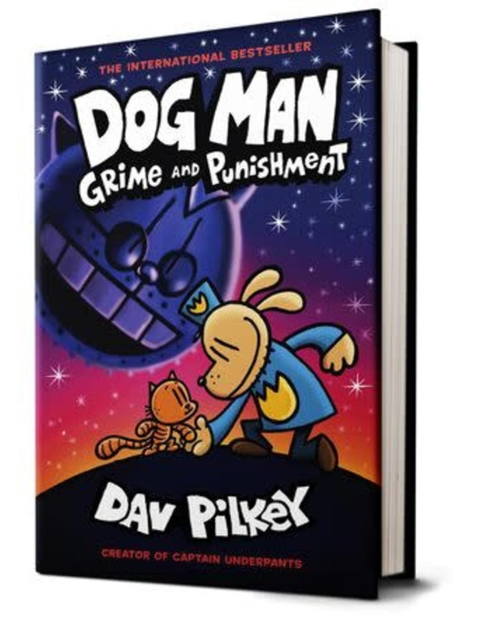 Scholastic Dog Man Grime and Punishment