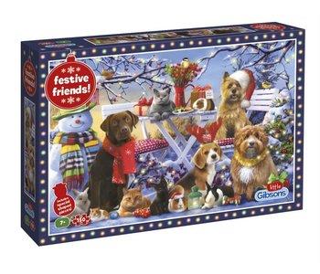 Festive Friends 150pc puzzle