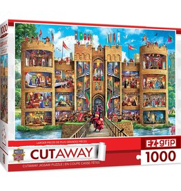 MASTER PIECES Medieval Castle 1000pc Puzzle