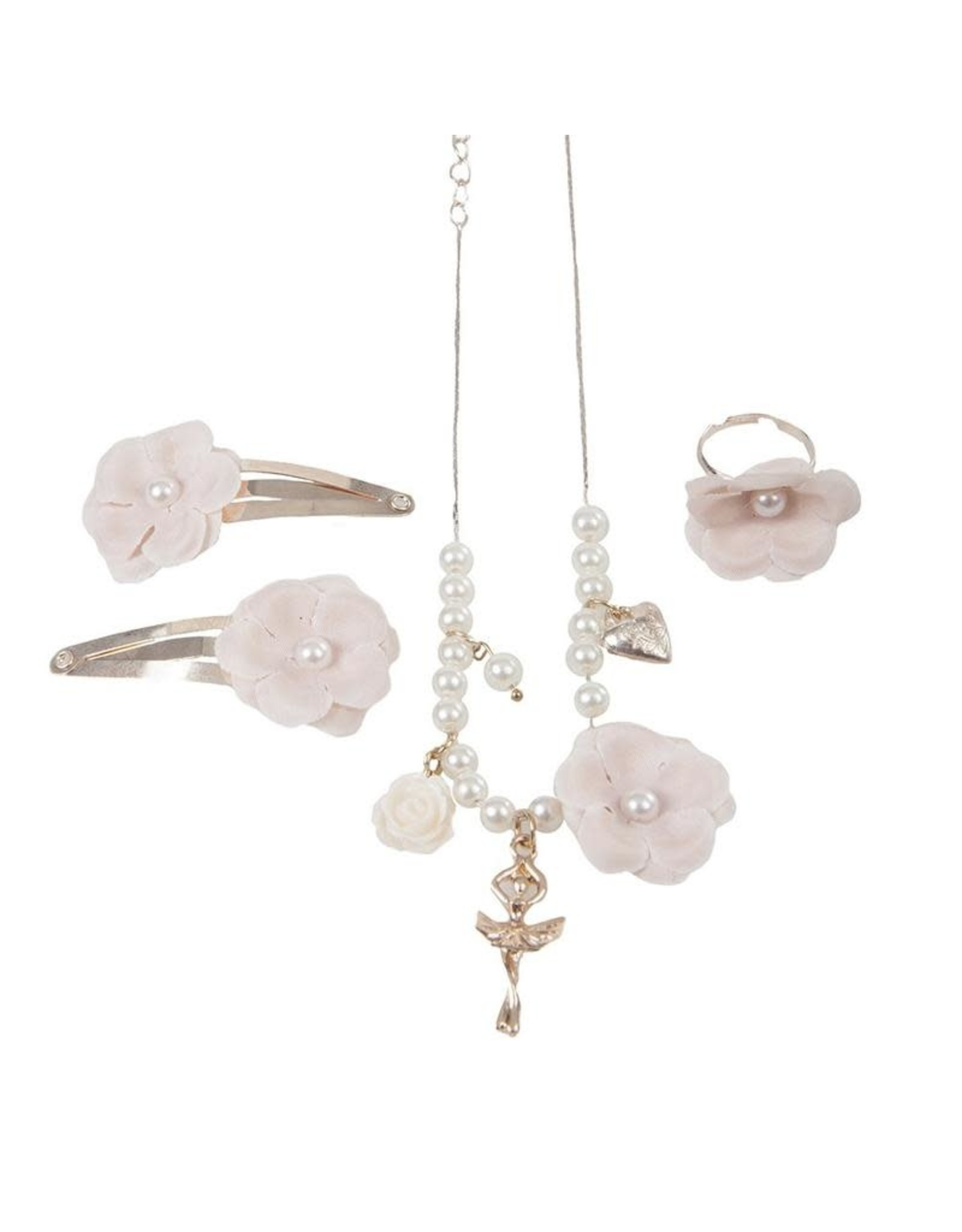Great Pretenders Ballet Dreams Necklace, Ring & Clips