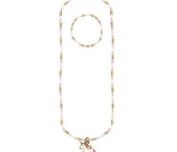 Magic Unicorn Necklace & Bracelet Set