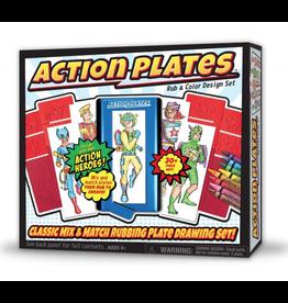 Kahootz Action Plates Super Heroes