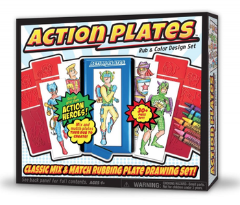 Action Plates Super Heroes