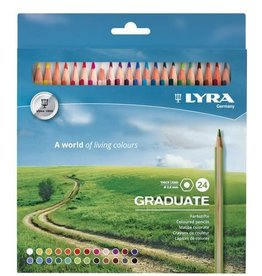 LYRA Graduate Coloured Pencil Set 24pc