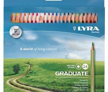 Graduate Coloured Pencil Set 24pc