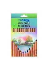 LYRA Super Ferby Waldorf Coloured Pencils 12pc