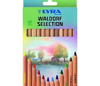 Super Ferby Waldorf Coloured Pencils 12pc