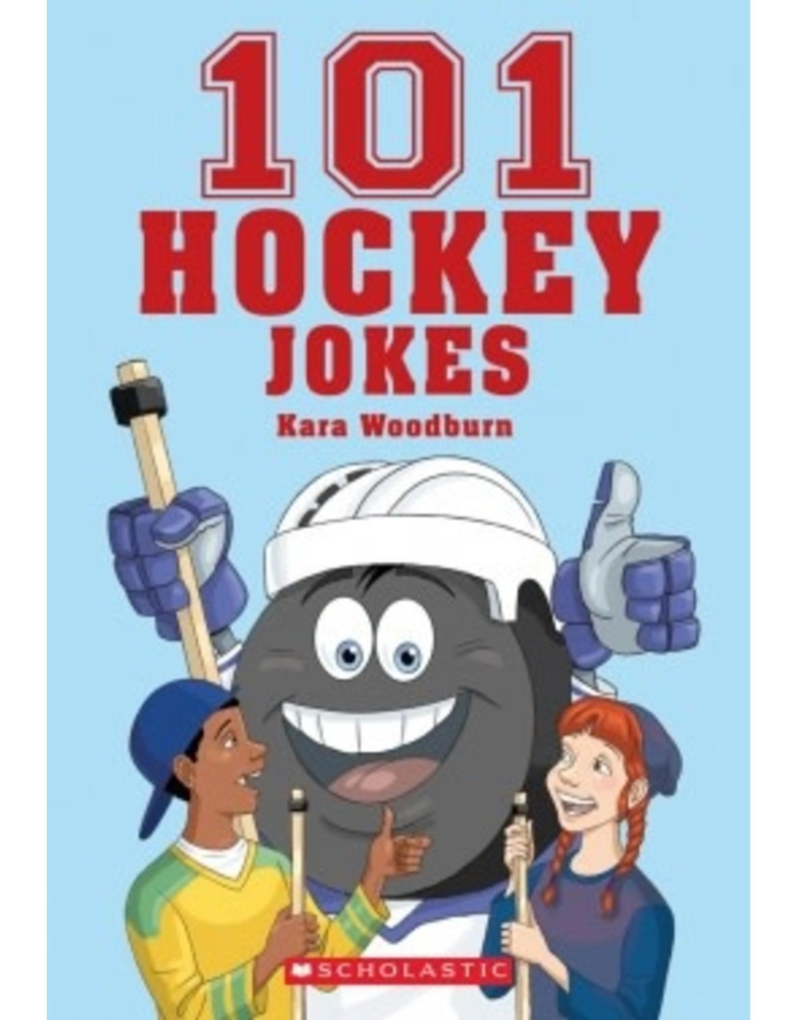 Scholastic 101 Hockey Jokes