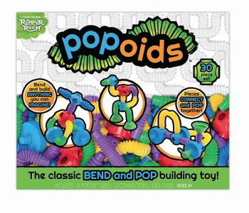 Popoids 30pc Building Toy