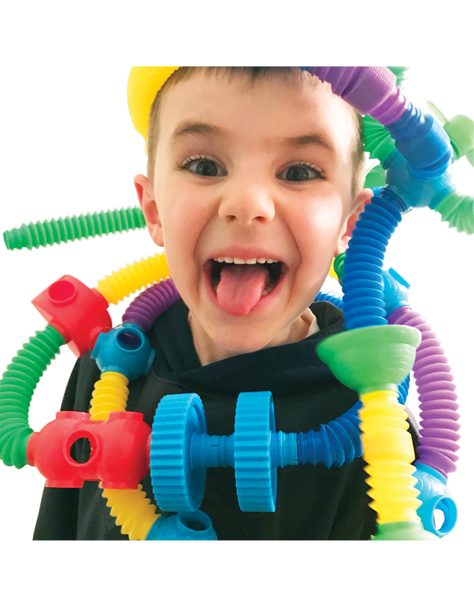 Romper Room Popoids 30pc Building Toy